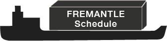 Fremantle Export LCL Schedule